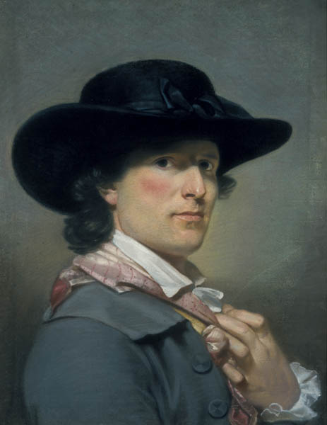 Archibald Skirving, Self-portrait, 1790
