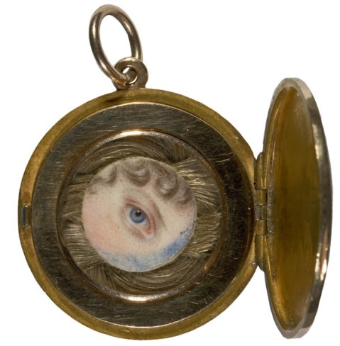 Charlotte Jones, The Eye of Princess Charlotte, c. 1817