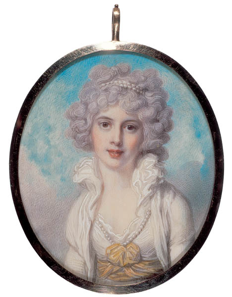 Richard Cosway, Elizabeth Courtenay, later Lady Somerset, c. 1788