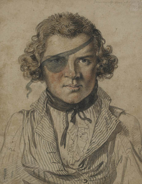 William Alexander, Self-portrait, 1792–4